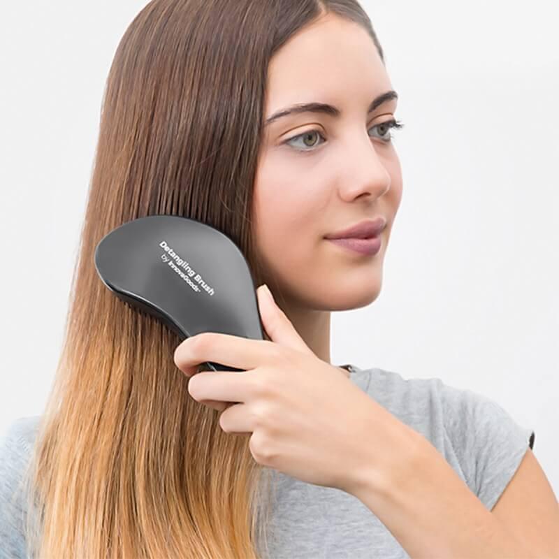 Krtača za razčesavanje las brez vlečenja