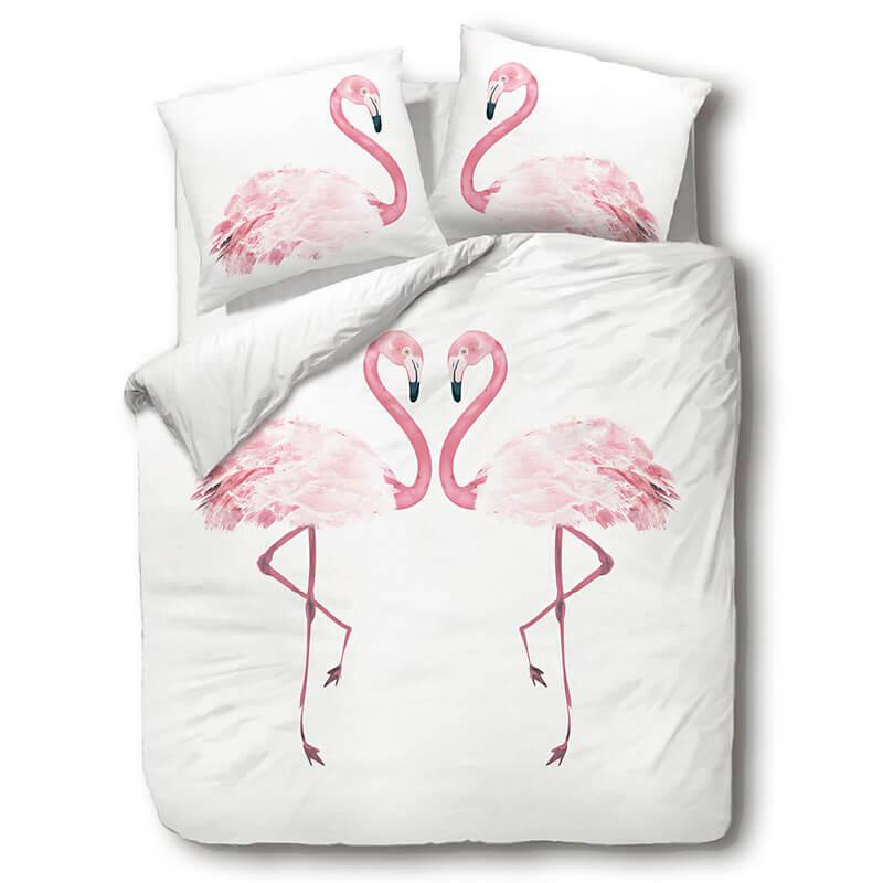 Posteljnina Flamingo