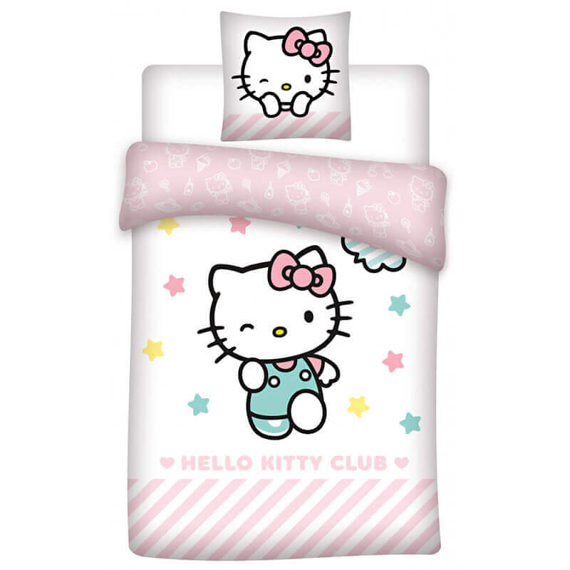 Posteljnina Hello Kitty