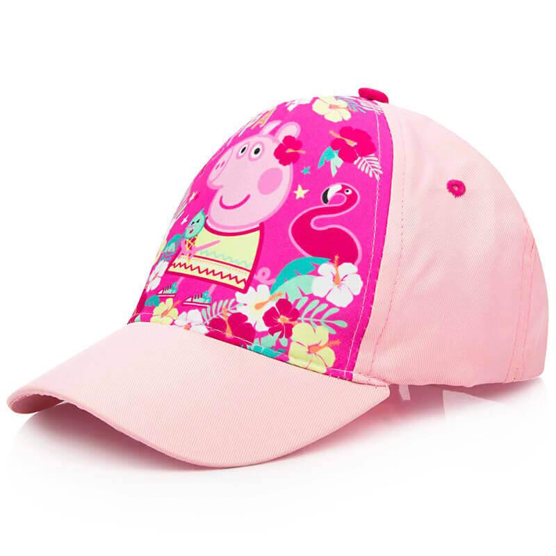 Šilt kapa Pujsa Pepa v svetlo roza barvi