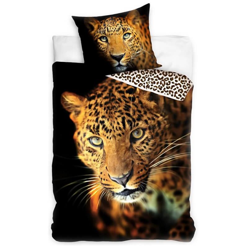 Posteljnina z motivom Leoparda