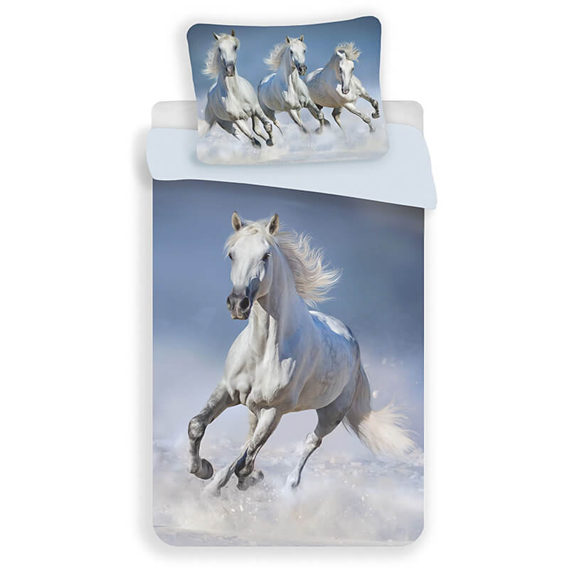 Posteljnina Beli konji